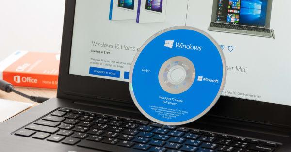 Portátil con Windows 10