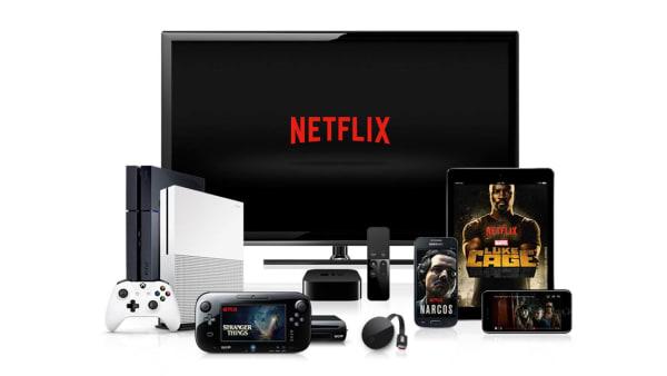 Televisor y dispositivos con Netflix