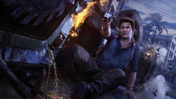 Nathan Drake en Uncharted 4