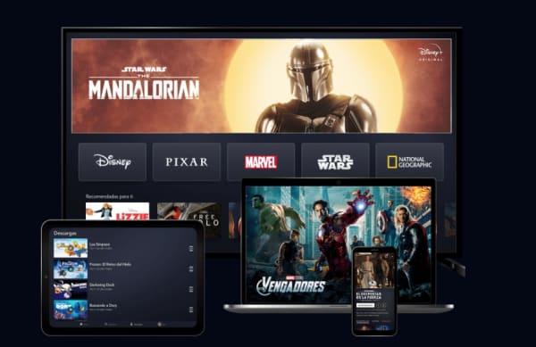 Dispositivos para ver Disney Plus
