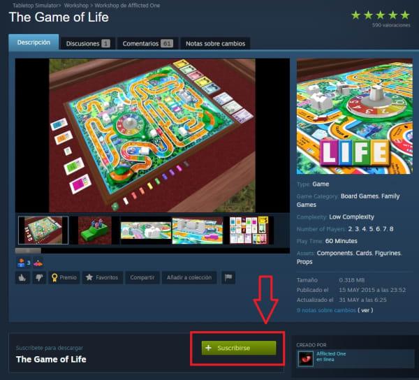 Cómo descargar un mod desde la Steam Workshop