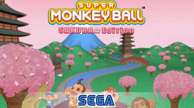Pantalla de Super Monkey Ball Sakura Edition