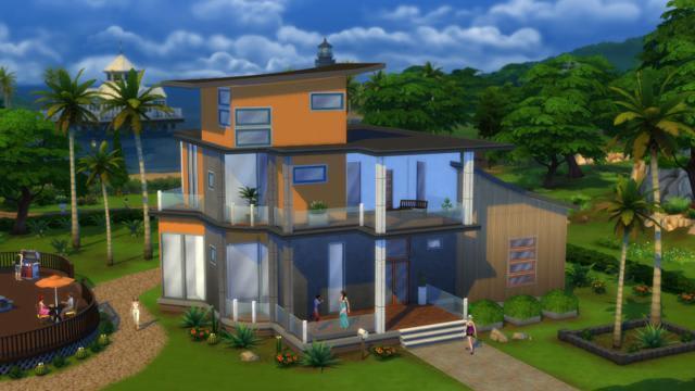 Sims 4 vecindario