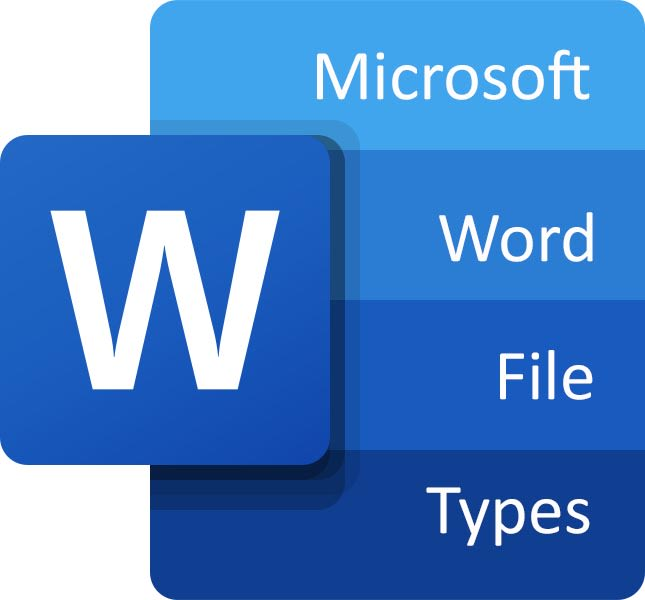 All file extensions for Microsoft Word