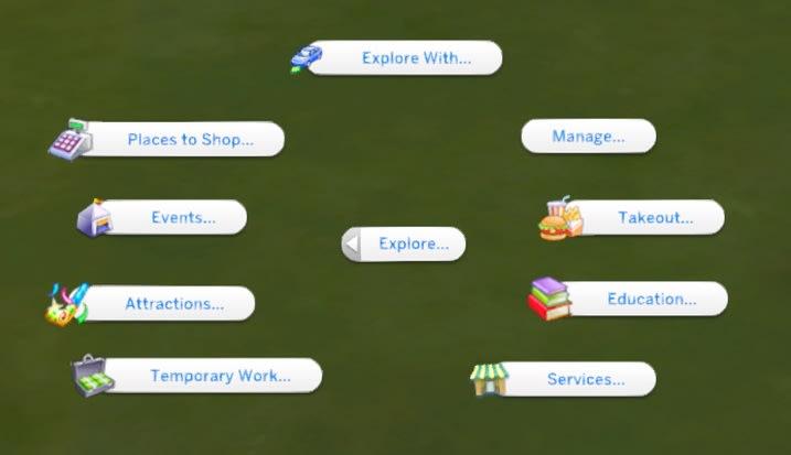 The Explore Mod para Los Sims 4