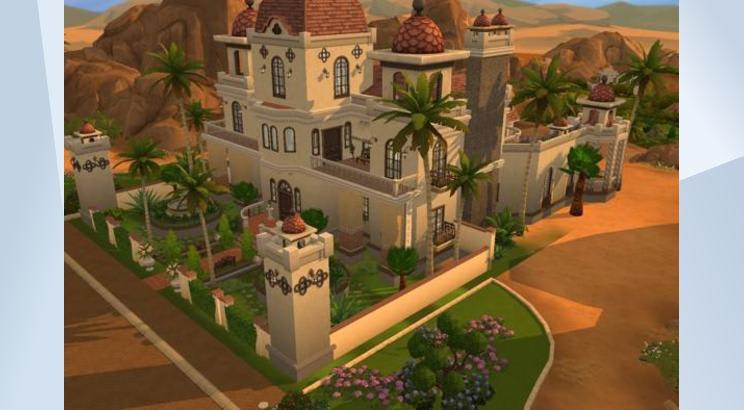 Desert Oasis Manos para Los Sims 4