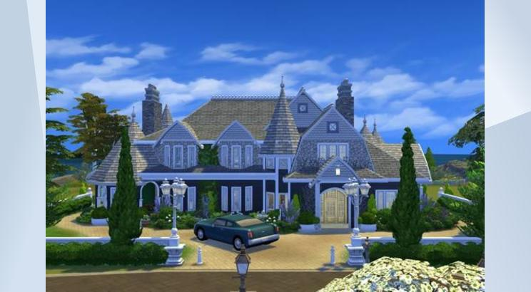 Everglade Hill para los Sims 4