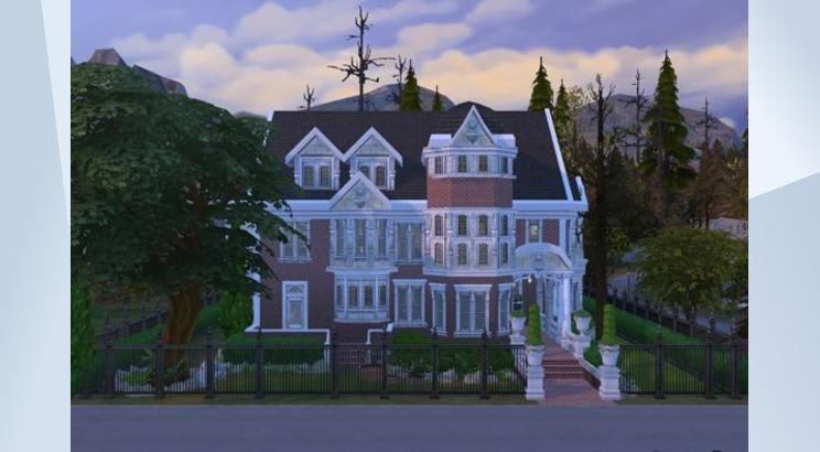 Casa de American Horror Story para Los Sims 4
