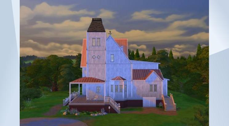 Casa de Beetlejuice para Los Sims 4
