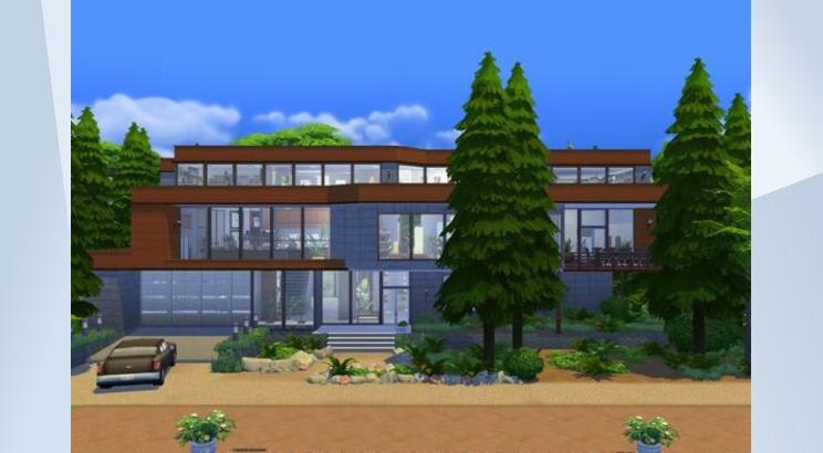 Casa de los Cullen (Crepúsculo) para Los Sims 4