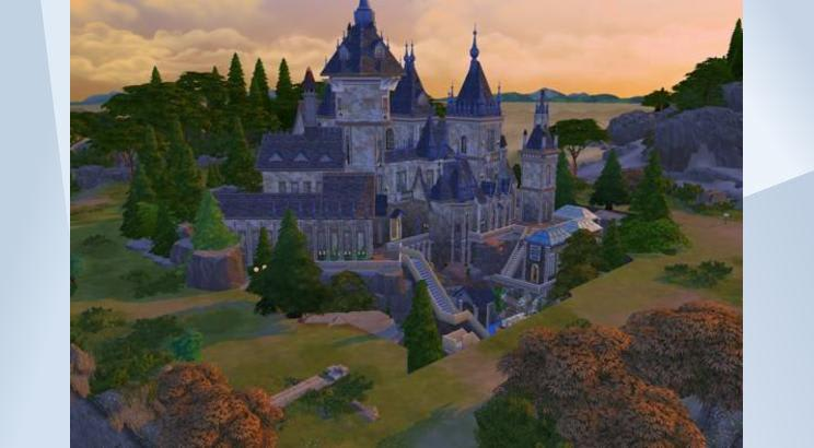 Castillo Hogwarts (Harry Potter) para Los Sims 4