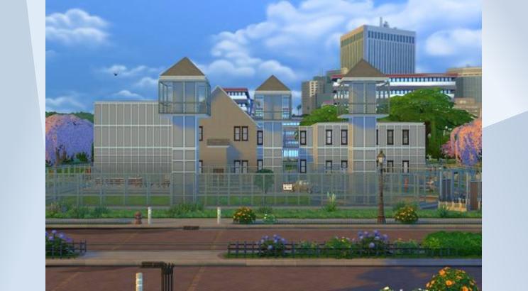 Prisión de The Walking Dead para Los Sims 4