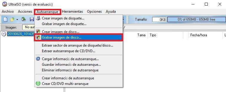 Cómo crear un USB booteable con Windows 10