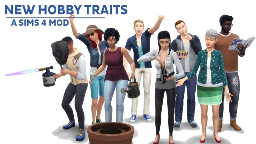 Mod New Hobby Traits para Los Sims 4