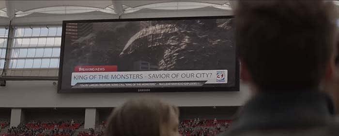 Godzilla 2014 ending