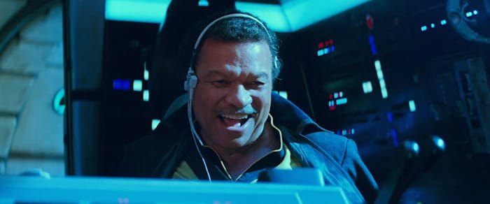 Lando Rise of Skywalker