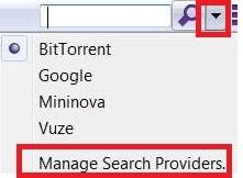 Buscar en uTorrent