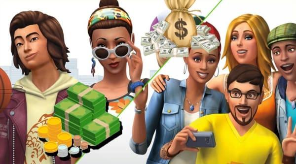 Los Sims 4 dinero