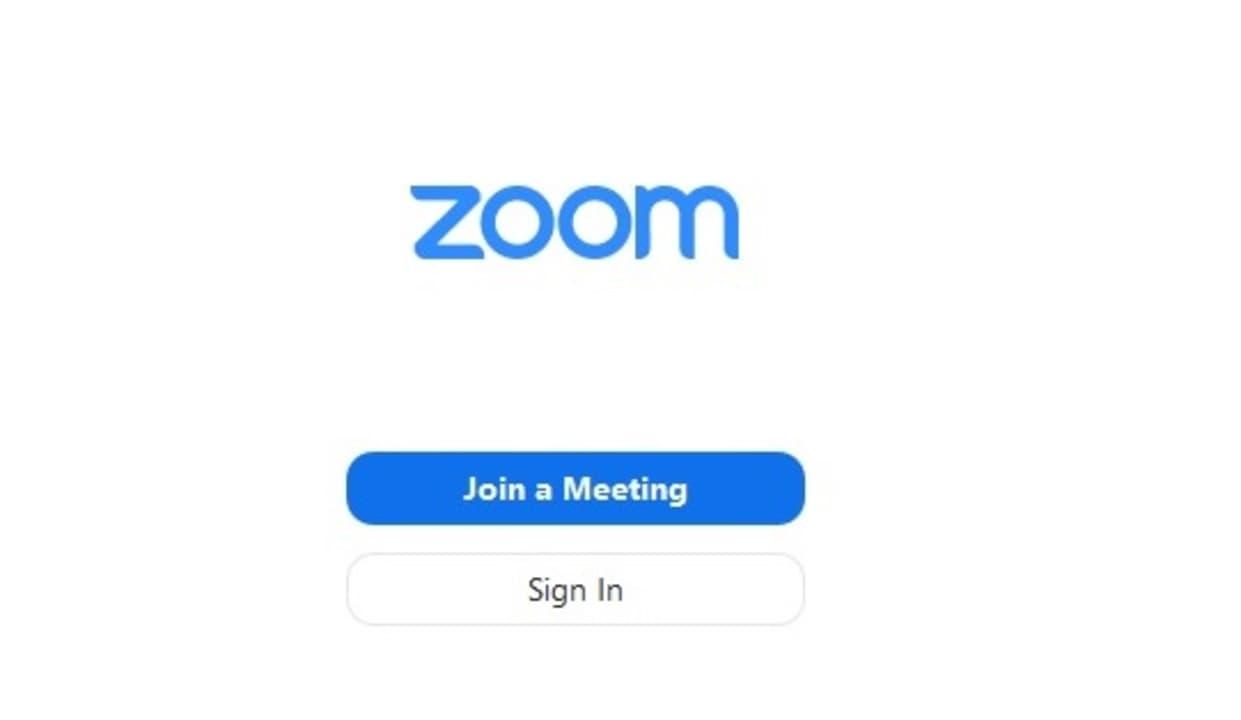 Iniciar una sesión en Zoom