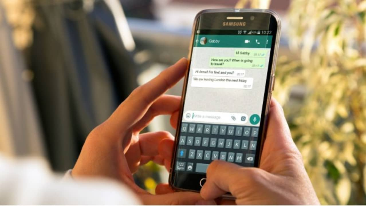 Enviar mensaje en WhatsApp
