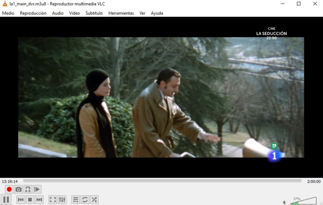 RTVE desde VLC Media Player
