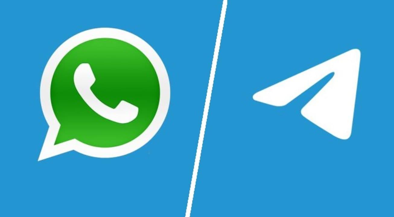 Los usuarios abandonan WhatsApp por Telegram