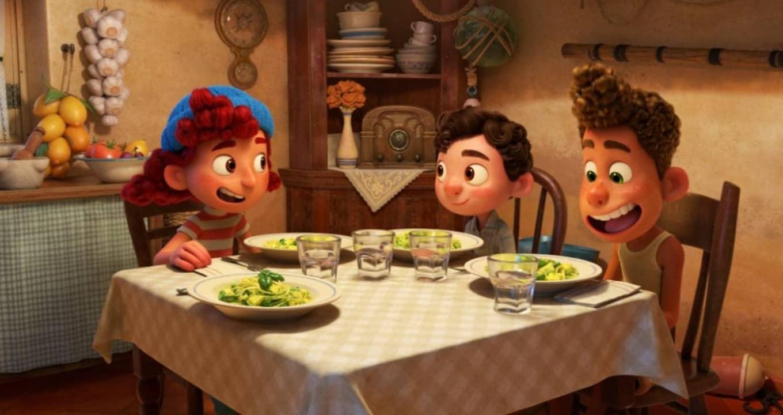Luca, Alberto y Giulia