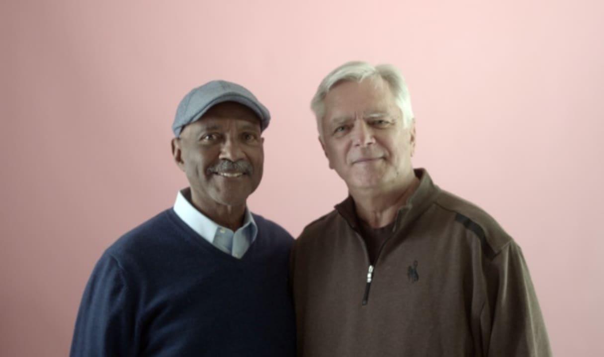 David Wilson y Rob Compton en la docuserie Pride