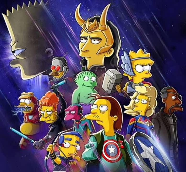 Los Simpsons en La buena, el malo y Loki