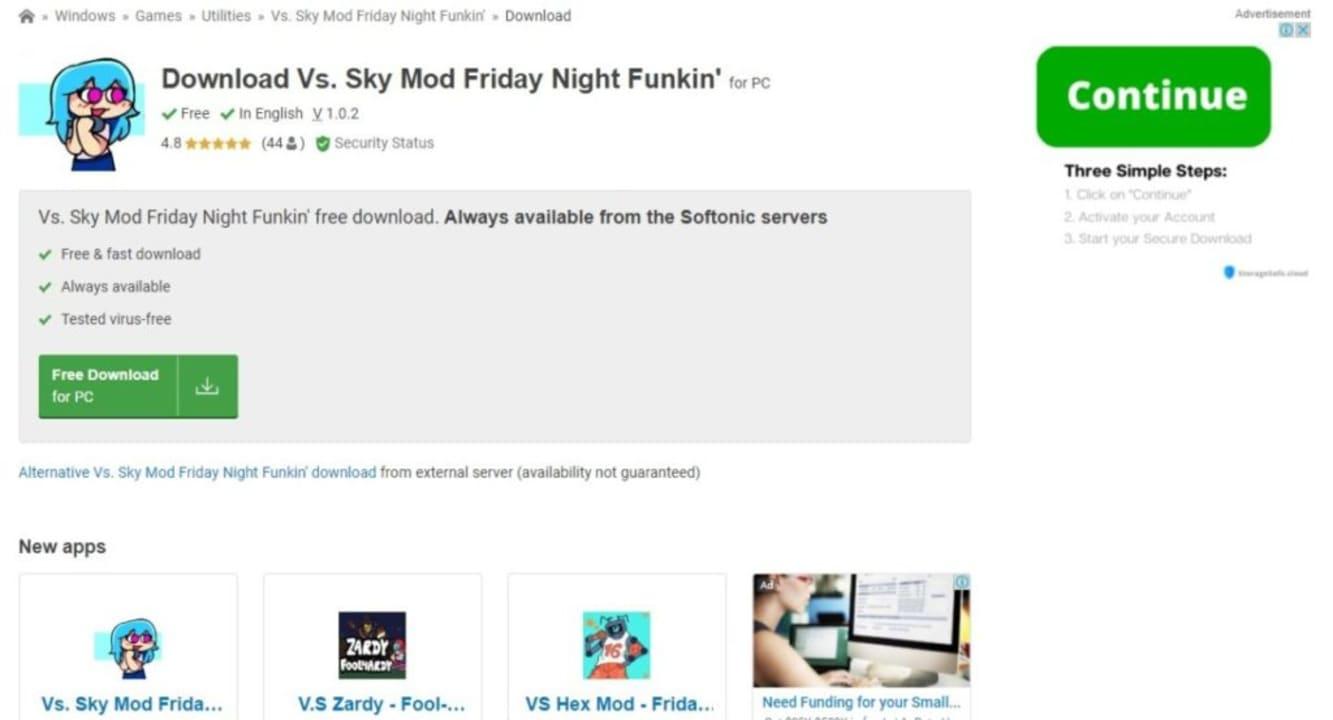 How to Install Friday Night Funkin Vs. Sky Mod