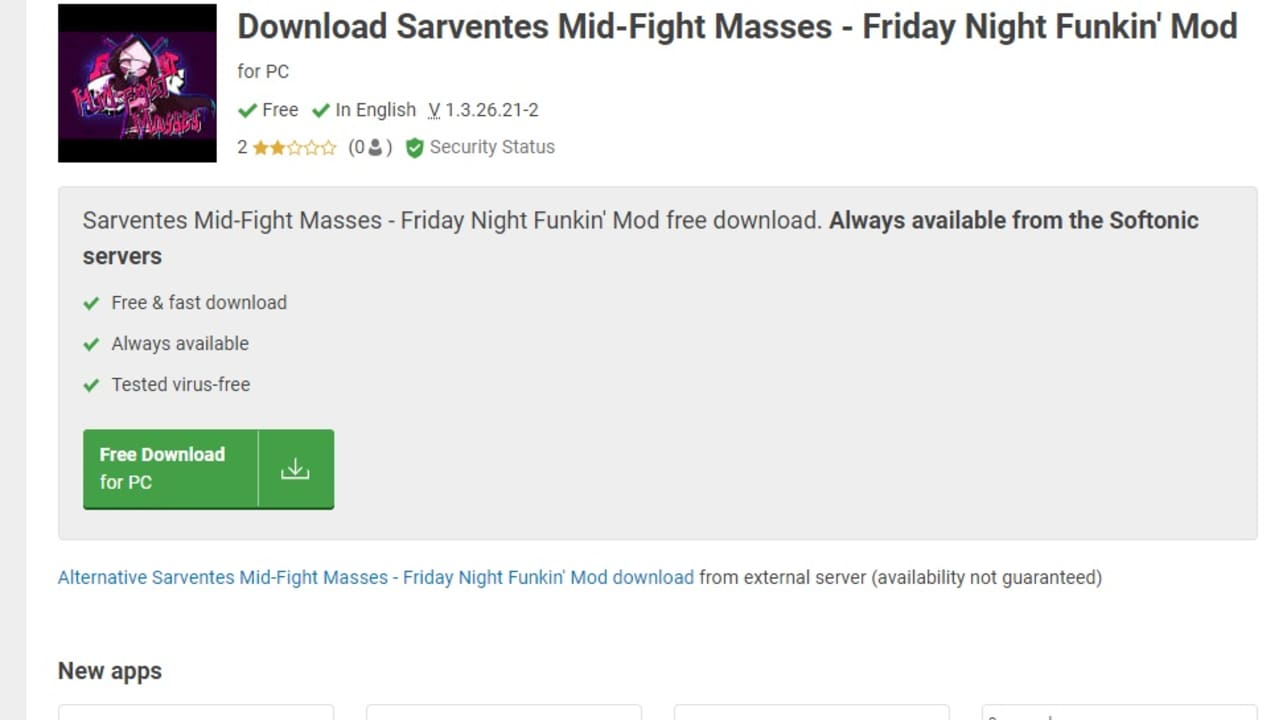 How to Install Friday Night Funkin's Sarvente's Mid-Fight Masses