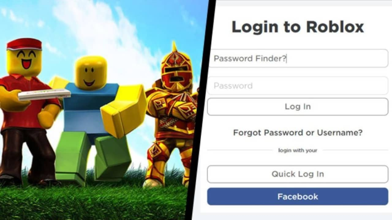 Roblox: Step 1: Log in to Roblox