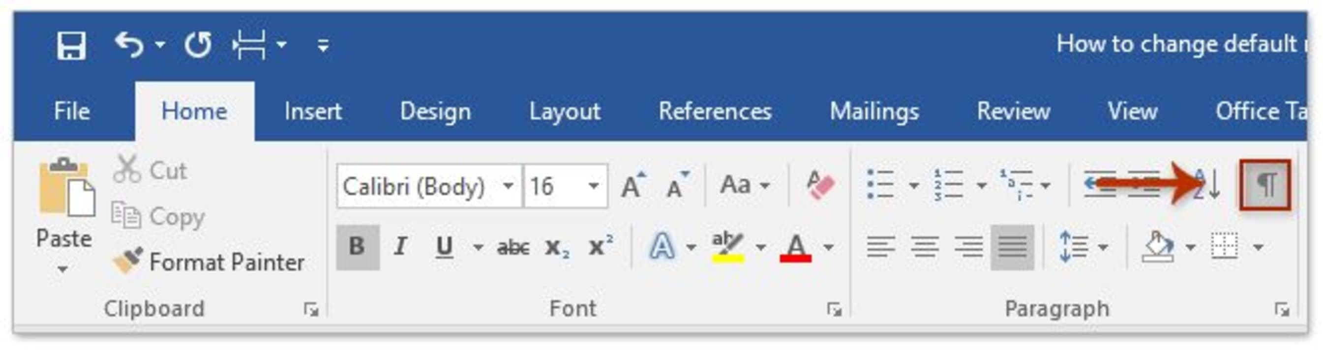 How to Remove a Section Break in Microsoft Word