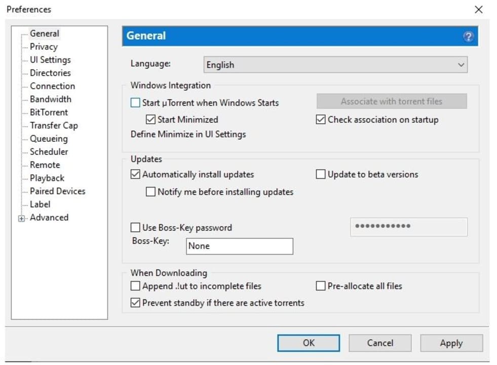 How to Stop uTorrent Opening on Startup in Windows 10