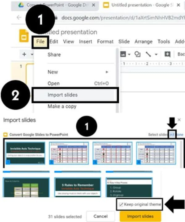 How to Convert Microsoft Powerpoint to Google Slides