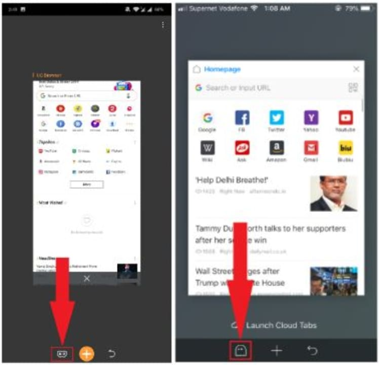 How to Enable Incognito Mode in UC Browser