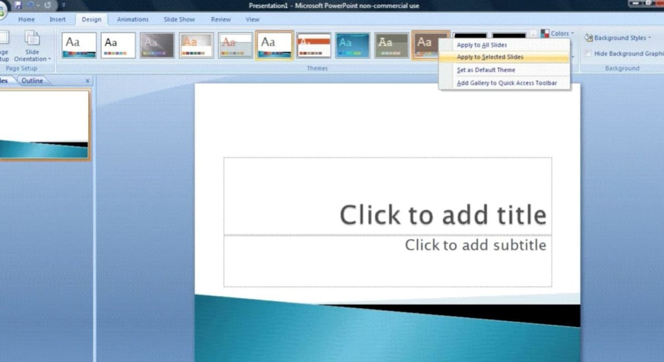 How to Use Microsoft Powerpoint