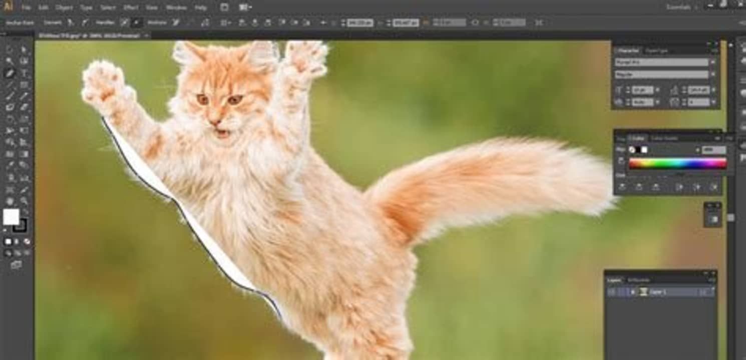 How to Remove Background in Adobe Illustrator